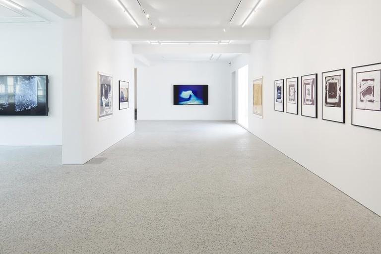 Steina and Woody Vasulka, Installation View, 2017 | Courtesy of BERG Contemporary