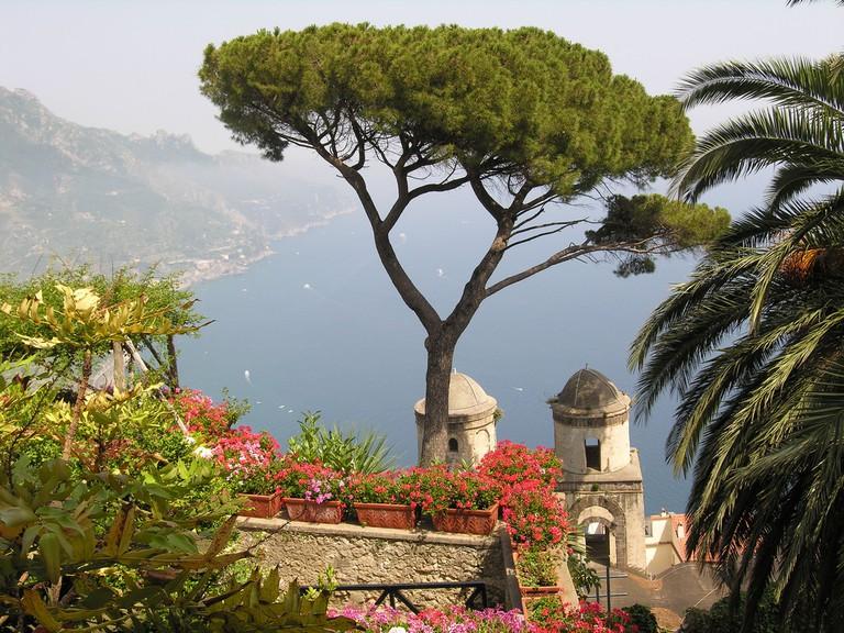 View from Villa Rufolo on Chiesa dell'Annunziata©Titus:Flickr