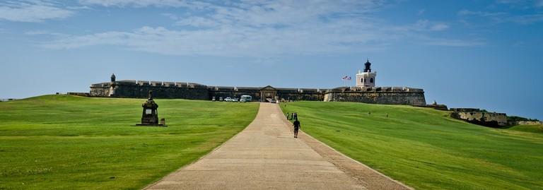 View of El Morro Castle