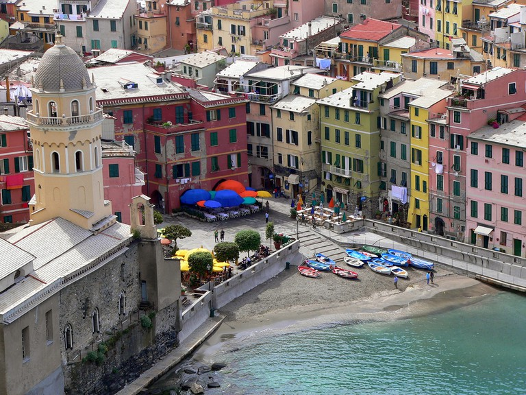 View of Vernazza©LeeCoursey:Flickr