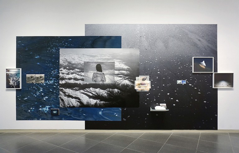 Josée Pedneault, Naevus (2016). Installation at the Daegu Photo Biennale, South Korea