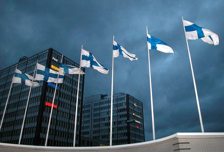 Finnish flags