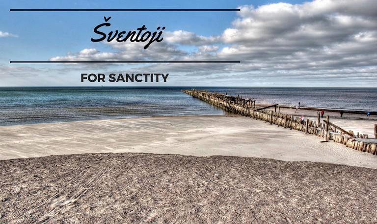 Sventoji beach