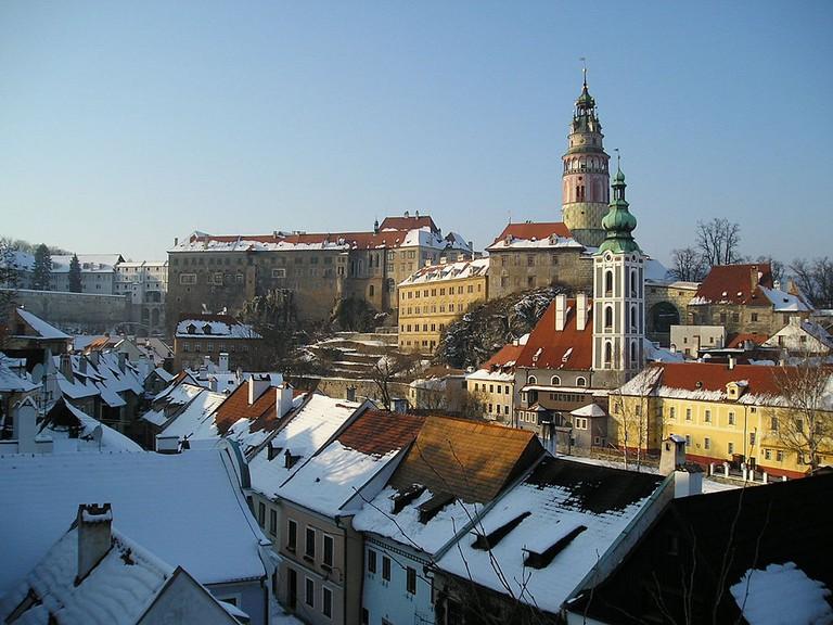 The town's castle
