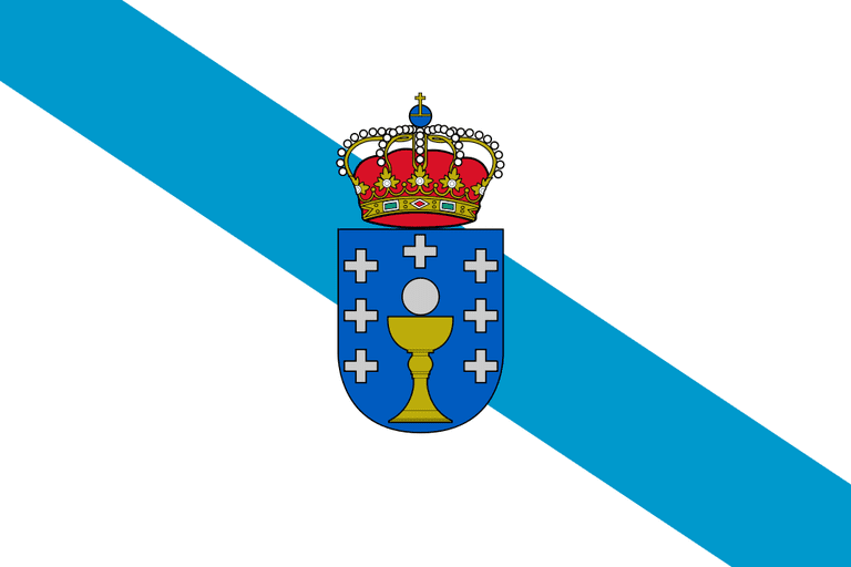 Flag of Galicia | ©Pedro A. Gracia Fajardo / Wikimedia Commons