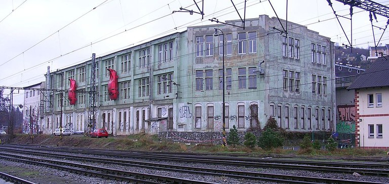 Outside view of Meet Factory