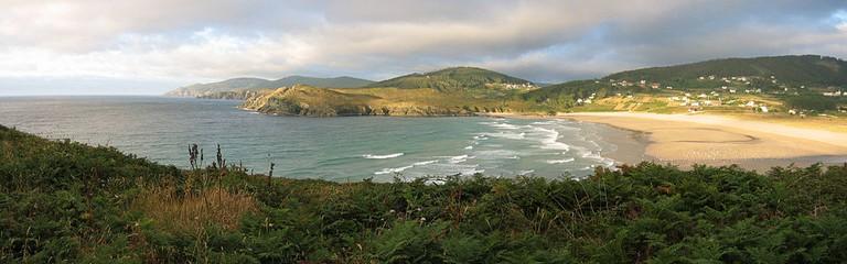 Praia de Pantín, Galicia