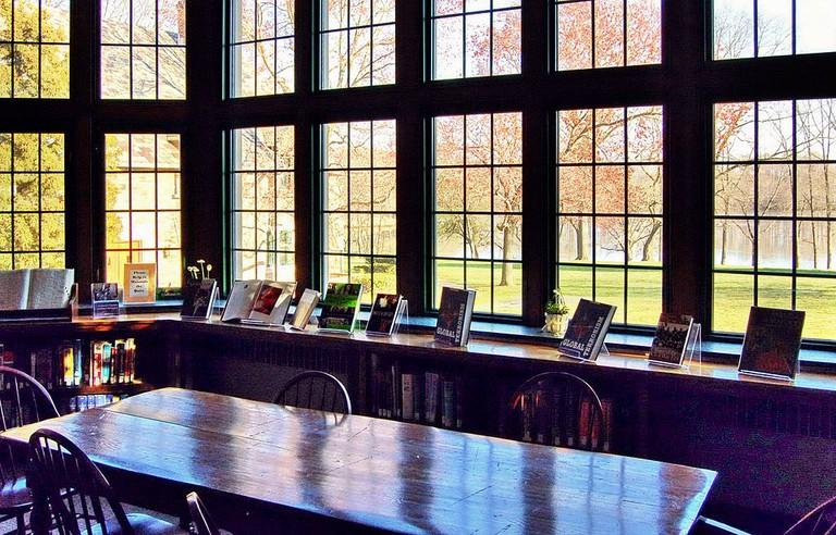 Inside St Andrews Library
