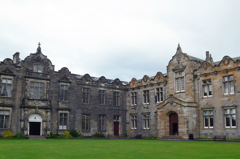 View Across St Salvator's Quad