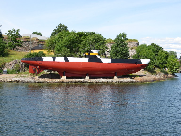The submarine at Suomenlinna / Bernt Rostad / Flickr