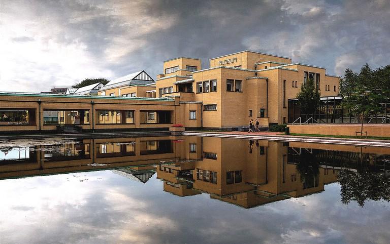 Gemeentemuseum was designed by H.P. Berlage