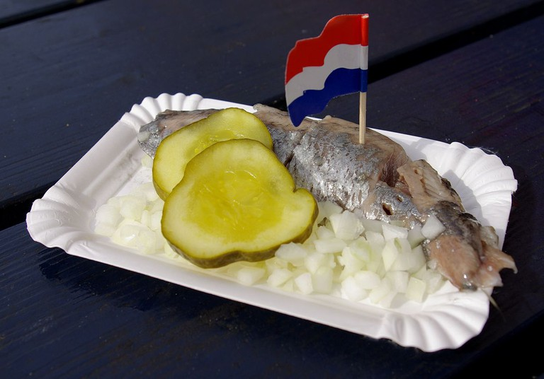 Pickled herring is a dutch staple