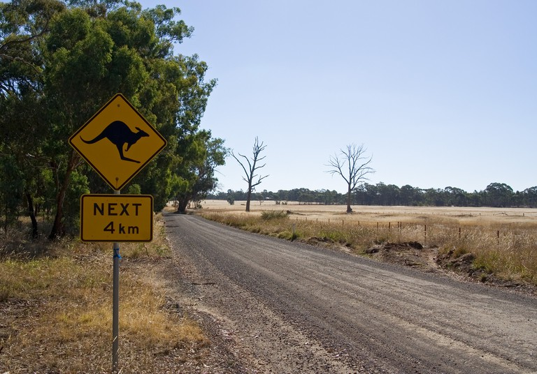 Australian country road