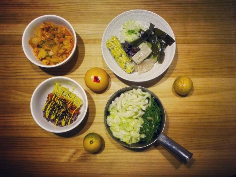 Vegan dining