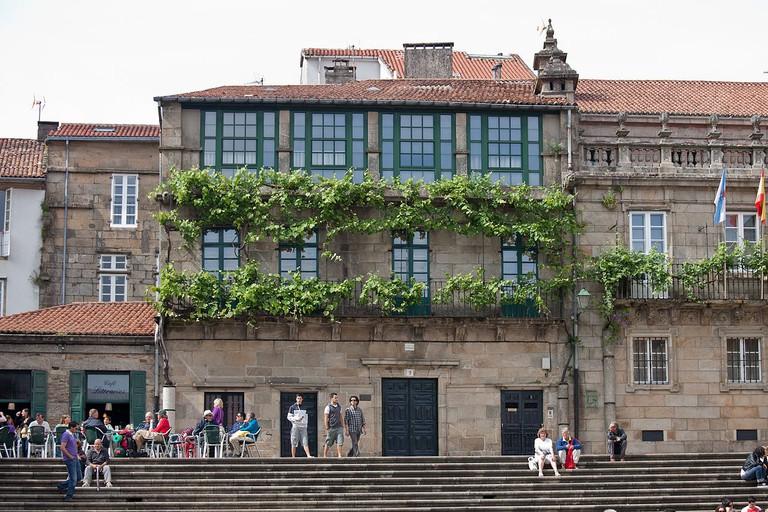 Casa da Parra, Santiago de Compostela   ©Luis Miguel Bugallo Sánchez / Wikimedia Commons