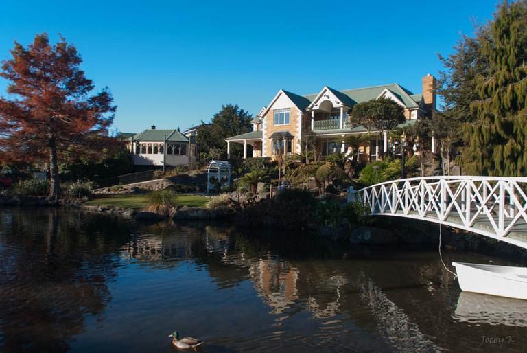 Swan Lake Gardens, Cashmere, Christchurch