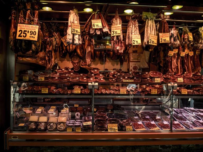 Spanish meats © Ajay Suresh