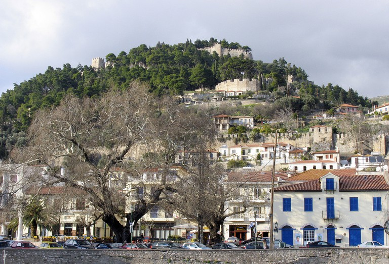 castle of Nafpaktos
