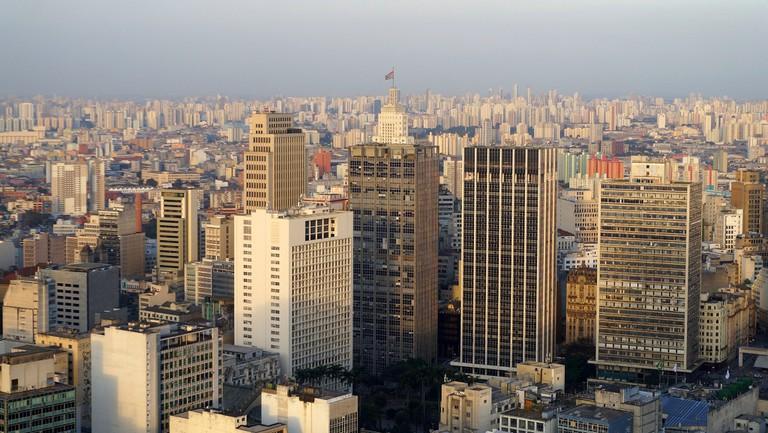 View from Terraço Itália, São Paulo
