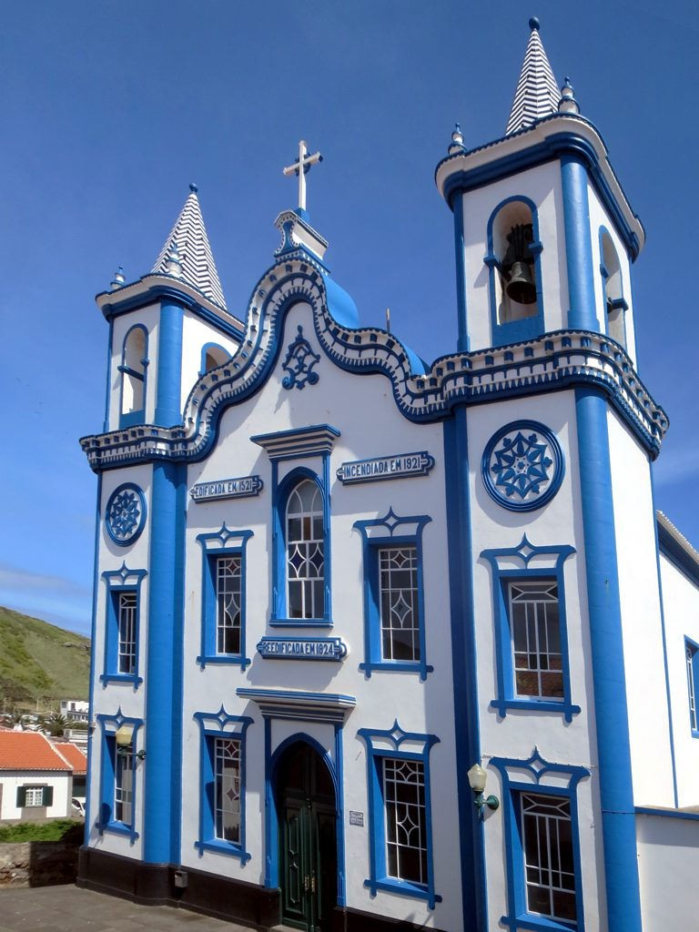 A sneak peak at the lovely architecture in Angra do Heroísmo.
