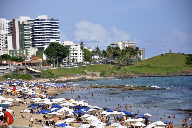 Praia do Farol da Barra I