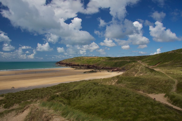 Freshwater West Beach, Wales | © Mario Sánchez Prada / Flickr