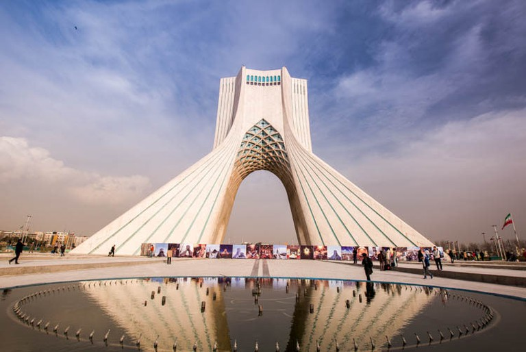 Azadi Tower is the symbol of Tehran