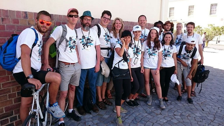 Open Streets Cape Town volunteer team (minus a couple)