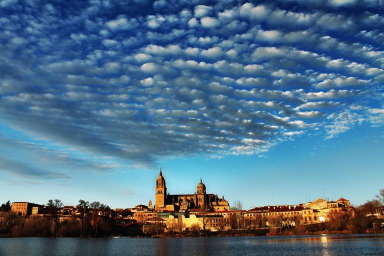 Sunset in Salamanca, Spain