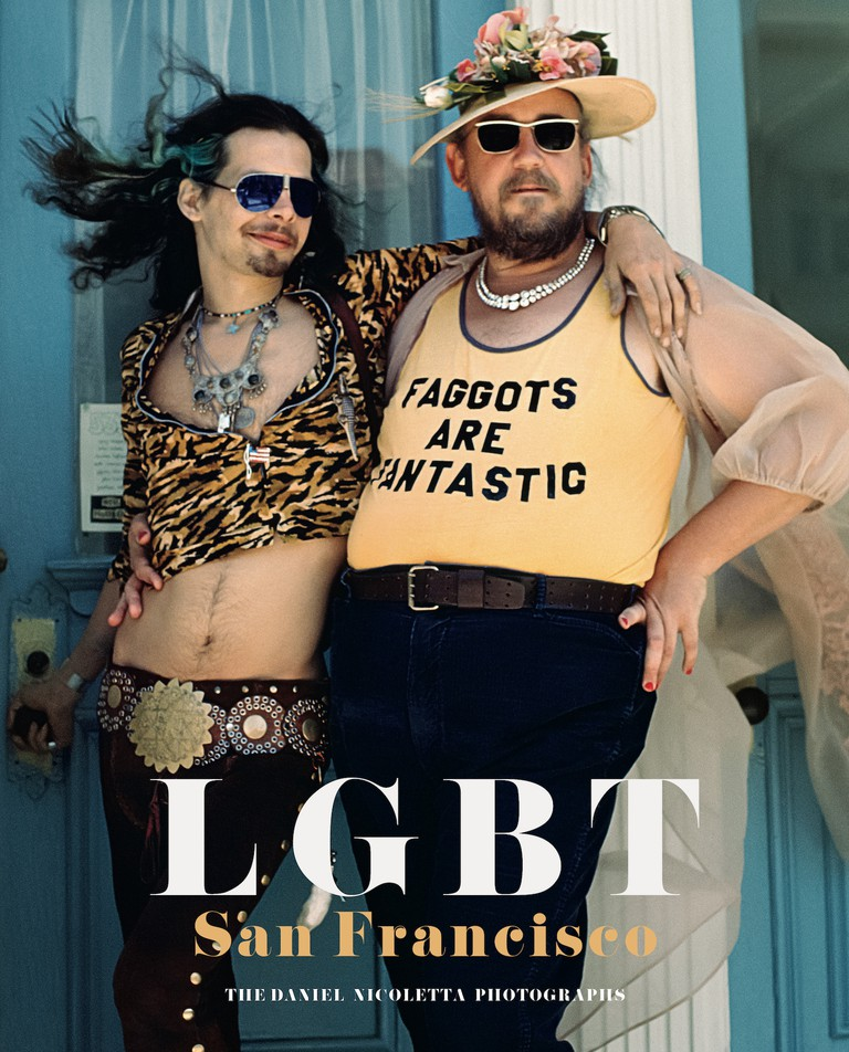 Front cover of 'LGBT: San Francisco – The Daniel Nicoletta' featuring Harmodius and Hoti, August 1975