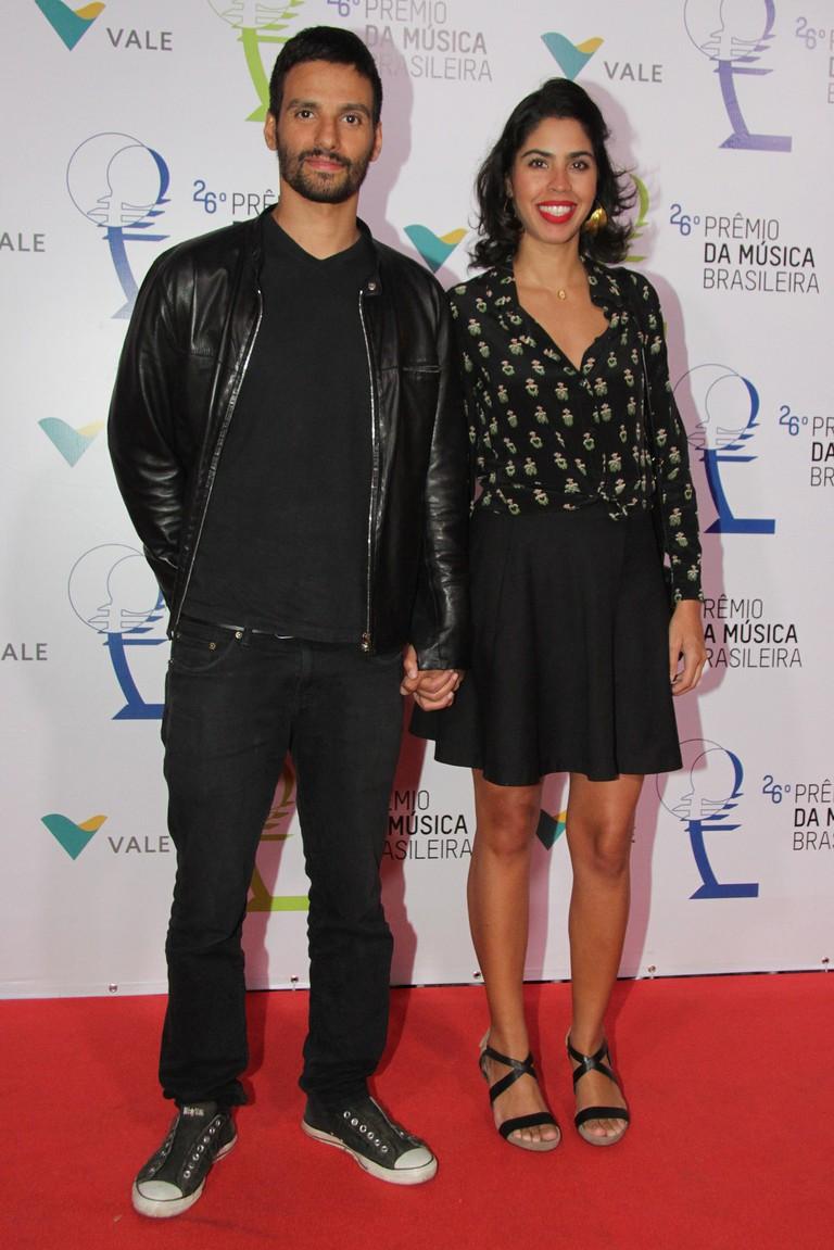 Bela Gil and her husband João Paulo Demasi