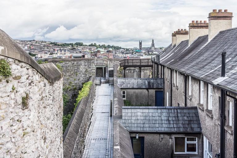 Views of Cork from Elizabeth Fort