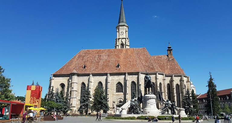 The Centre of Cluj in Summer