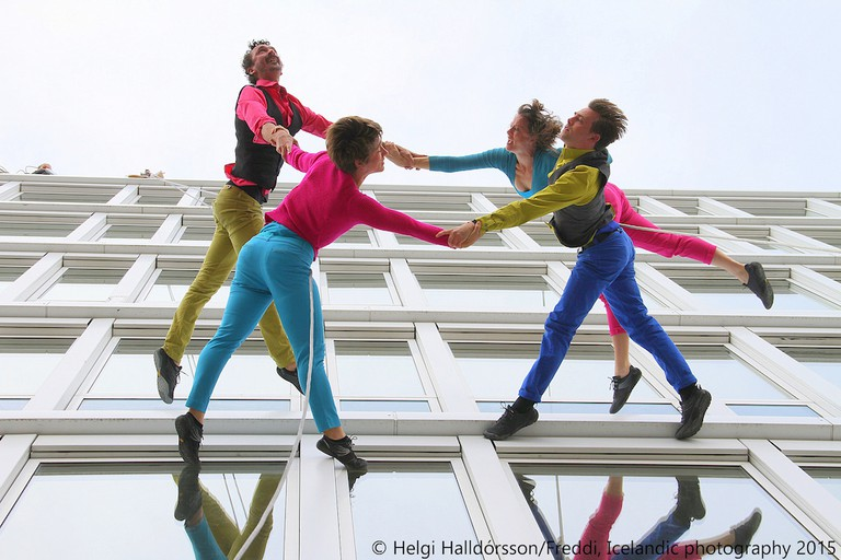 Dancing on the walls | © Helgi Halldorsson/Flickr