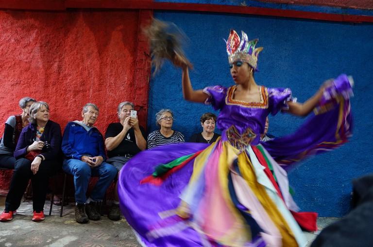 Cuban folk dancer