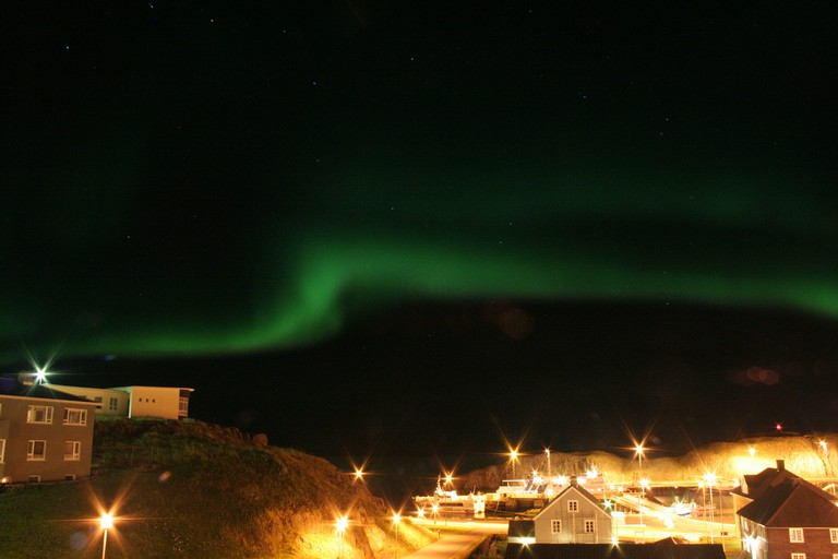 Aurora Over Stykkisholmur | © Jeroen/Flickr