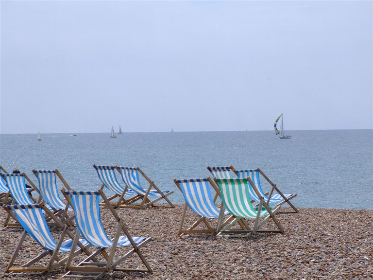 Brighton Beach | Les Chatfield/Flickr