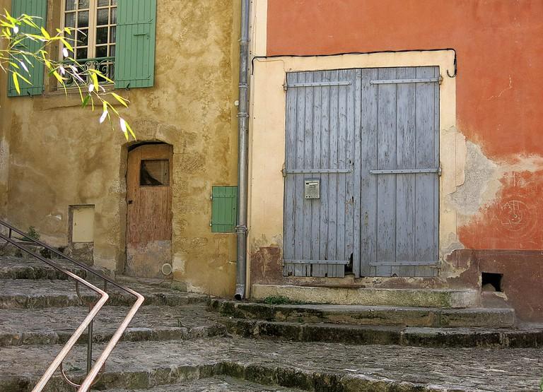 Street corner, Mane, Provence, France
