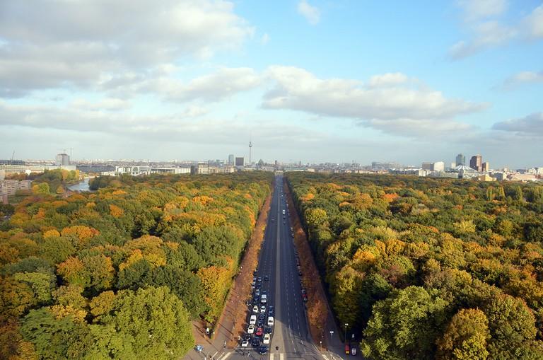 View over Tiergarten