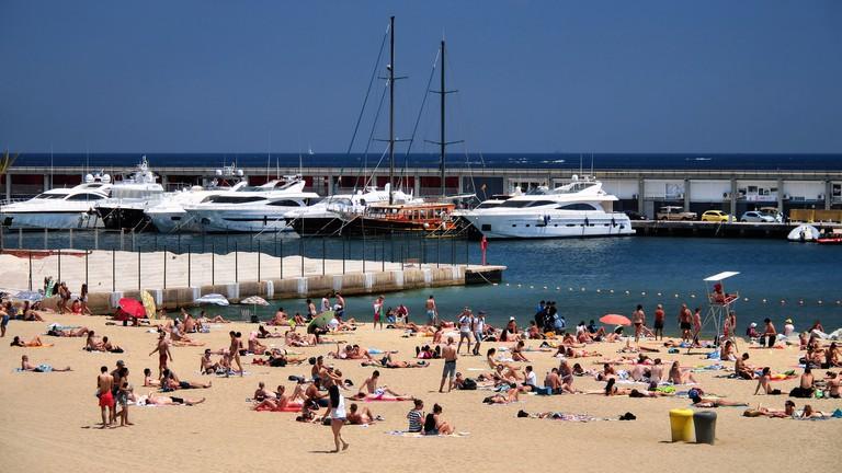 The Barceloneta beach © Jorge Franganillo