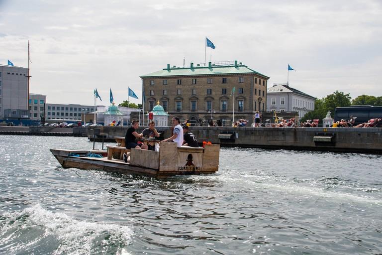 Copenhagen by sea