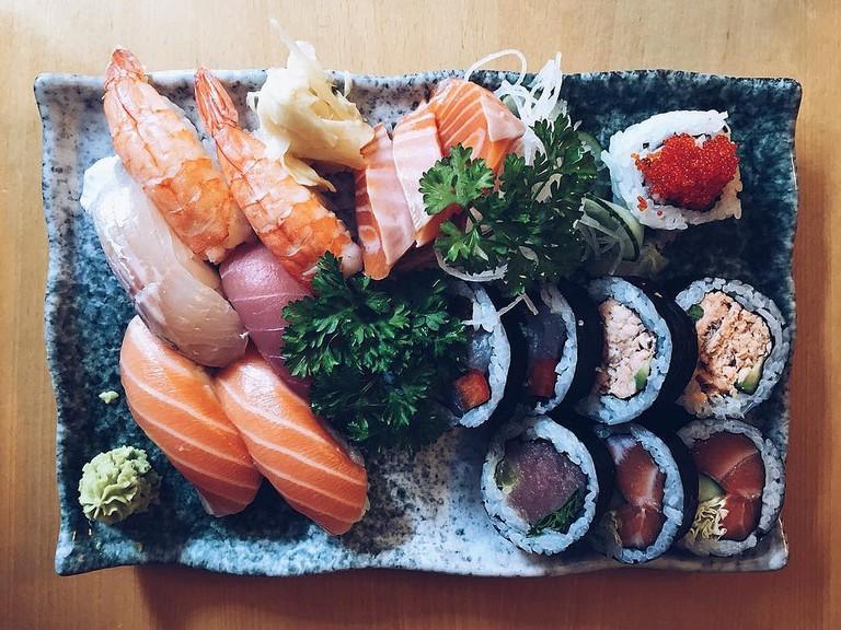A sushi selection from Helsinki / Sami Keinänen / Flickr