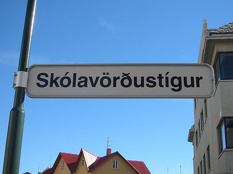 typical icelandic tongue twister street name | © worldislandinfo.com/Flickr