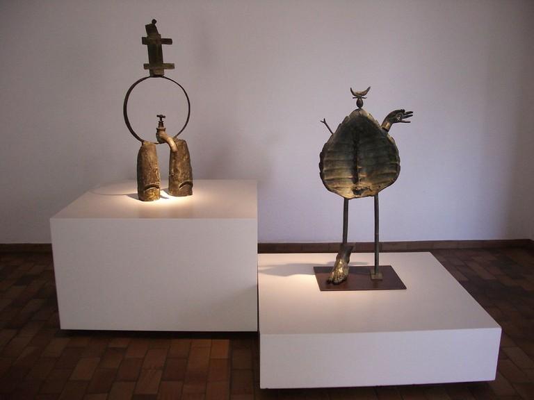 Miró sculptures