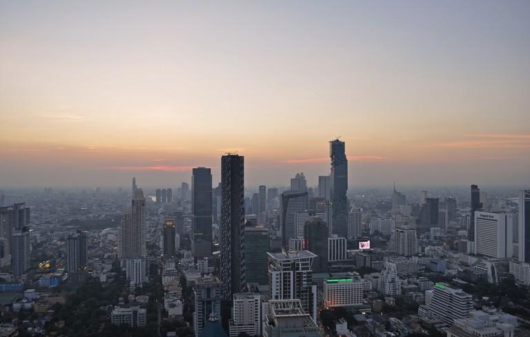 Thailand – Bangkok – view from Moon Bar