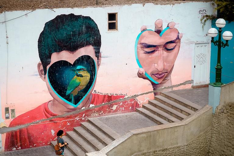 Street art in Barranco