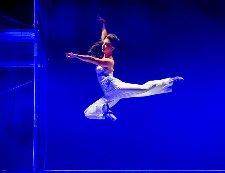 Blue Lapis Light Aerial Dance, based in Austin