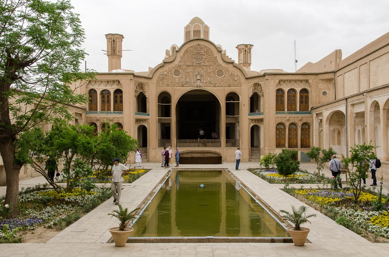 Borujerdi House makes up part of Kashan's skyline
