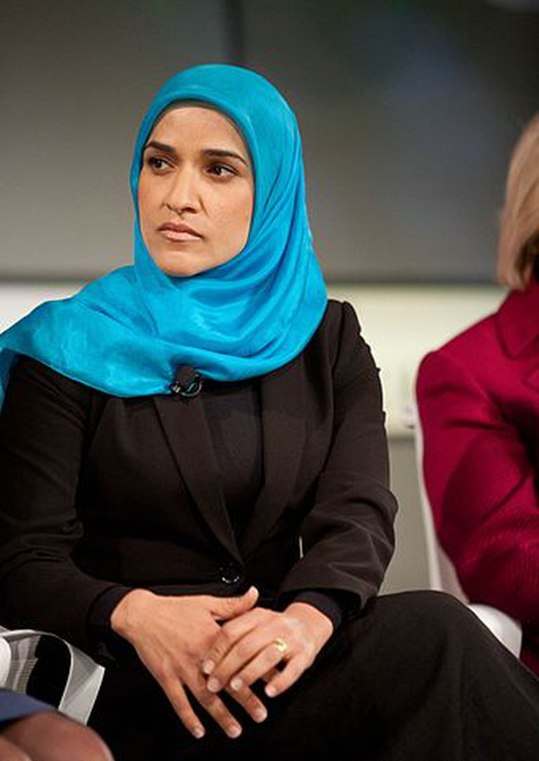 Dalia Mogahed at the Fortune Most Powerful Women Summit in Laguna Niguel, CA.