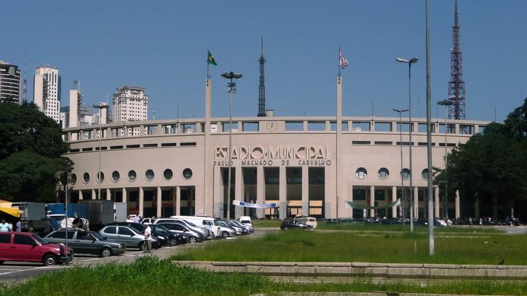Charles Miller Square & Pacaembu Stadium, São Paulo